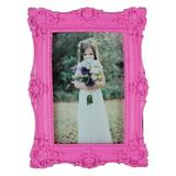 Wrought Studio™ Willman Resin Picture Frame Plastic in Pink, Size 10.12 H x 6.1 W x 0.79 D in   Wayfair RF15003RS