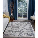 Garland Cream Machine Washable Large 8x10 Area Rug 8x10 for Living Room - 8x10 Area Rugs 8x10 Carpets Bedrooms Rugs for Living Room 8x10 Carpet Alfombras para Salas Grandes Modernas