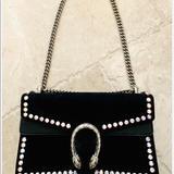 Gucci Bags   Authentic Dionysus Gucci Taking Down   Color: Black/Silver   Size: 11x7hx3.5d15drop