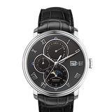 Mens Watches,Men Automatic Watch BORMAN Man Luxury Business 50M Waterproof self Wind Mechanical Dress Wrist Watch Month,Week,Date,24 Hours,Sun-Moon Indicator (Men Watch p1)