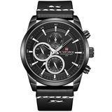 [Watches for Men ] NAVIFORCE 9148 Mens Watch - Business Fashion Luxury - Digital Quartz Dual Time Display - Casual Japanese Quartz Watches (02)