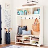 Hampton Grasscloth Entry Cabinet - Ballard Designs