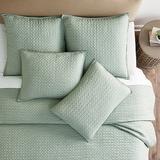 Lottie Crochet Quilt Ivory Twin - Ballard Designs