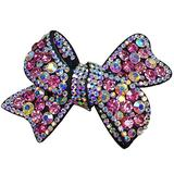 Butterfly Hair Claw Clip Hair Clip Ponytail Holder Sparkly Spring Hair Clips Barrette Accessories for Women Lady Girl Teen Hair Jewelry Austrian Crystal Hair Barrette Clip Clear …