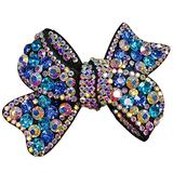 Butterfly Hair Claw Clip Hair Clip Ponytail Holder Sparkly Spring Hair Clips Barrette Accessories for Women Lady Girl Teen Hair Jewelry Austrian Crystal Hair Barrette Clip Clear