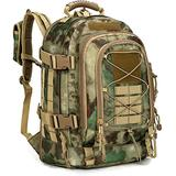 Paladins Backpack Large Work Backpack Military Camo Backpack Molle System Waterproof for Men (ATACS)