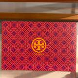 Tory Burch Shoes | Box Only Tory Burch Women'S 'Sally 2' Black Peep | Color: Pink | Size: 8