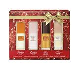 Women's Musk Gift Set with Jovan Musk, White Musk, COTY Wild Musk, and Vanilla Musk, 1 Ounce, Pack of 4, Total Retail Value $37.00