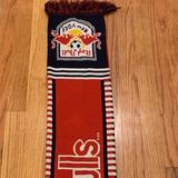 Adidas Accessories | Adidas - New York Redbulls Scarf | Color: Blue/Red | Size: Os