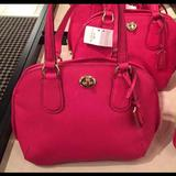 Coach Bags   Authentic Coach Womens Small Handbag   Color: Pink   Size: Small