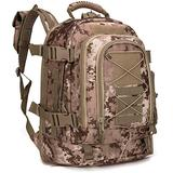 Paladins Backpack Large Work Backpack Military Camo Backpack Molle System Waterproof for Men (Italy Camo)