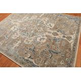 Old Hand Made Allura Floral Traditional Persian Oriental Woolen Area Rugs (8'x10')