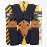Dickies 2-Inch Wide Work Suspenders - Navy Blue Size One (L10272)