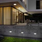 Eurofase Low Voltage Hardwired LED Pathway Light Metal in Black, Size 15.75 H x 4.5 W x 4.5 D in | Wayfair 35894-018