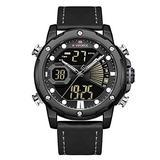[Watches for Men ] NAVIFORCE 9172 Mens Watch - Business Fashion Luxury - Digital Quartz Dual Time Display - Casual Japanese Quartz Watches (03)