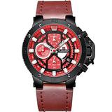 [Watches for Men] NAVIFORCE 9159 Mens Watch - Luxury Sport Military - Analog Watch Dial with Date - Casual Japanese Quartz Watches (03)