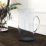 Red Barrel Studio® Truxton Bubble Glass Pitcher Glass, Size 10.0 H x 5.0 W in   Wayfair 486D87E28496429686F4796C530FB52B