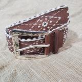 Michael Kors Accessories | 37 Michael Kors Leather Western Belt | Color: Brown | Size: S