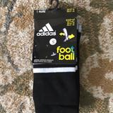 Adidas Accessories | 14 Pairs Of Adidas Soccer Socks For Kids | Color: Black | Size: Osb