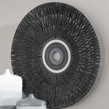 Dakota Fields Tribal Wall Decor Metal in Black, Size 38.0 H x 38.0 W x 2.0 D in   Wayfair 962B574010DA430D94ABCDCCF2D59BAA