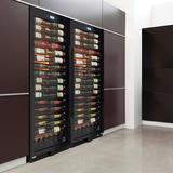 Vinotemp 141 Bottle Single Zone Freestanding/Built-In Wine Cellar in Black, Size 73.75 H x 28.75 W x 24.0 D in | Wayfair EL-WCU106-02