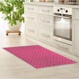 Latitude Run® Datev Kitchen Mat Synthetics in White, Size 0.08 H x 24.0 W x 36.0 D in   Wayfair 1D58B0427640411F9473A7C8FDBC0A02