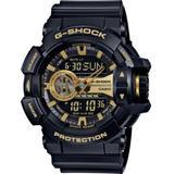 Men's Analog-digital Chronograph Black Resin Strap Watch 55x52mm Ga400gb-1a9 - Black - G-Shock Watches