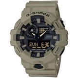 Men's Analog-digital Beige Resin Strap Watch 53mm - Natural - G-Shock Watches