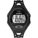 Watch Ironman Sleek 30 Full-size Resin Strap Black/digital - Black - Timex Watches
