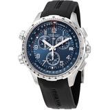 Khaki X-wind Chronograph Quartz Blue Dial Watch - Blue - Hamilton Watches