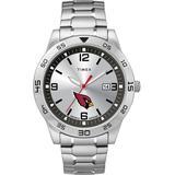 Citation Arizona Cardinals Watch Silver-tone - Metallic - Timex Watches