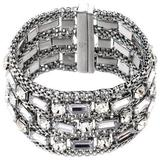 Woven Magnetic Bracelets - Metallic - Nicole Miller Bracelets