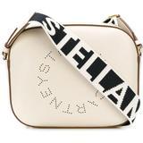 Stella Logo Crossbody Bag - White - Stella McCartney Shoulder Bags