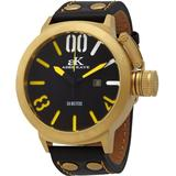 Mondo G4 Black Dial Watch -mg - Metallic - Adee Kaye Watches