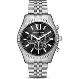 Analogue Quartz Watch With Stainless Steel Strap Mk8602 - Metallic - Michael Kors Watches
