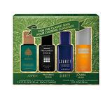 Men's OMNI Coty Fragrance 4-Piece Gift Set with Aspen, Preferred Stock, Gravity, and Jovan, 3 x 1.7-Ounce and 1 x 2-Ounce