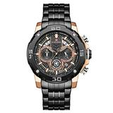[Watches for Men] NAVIFORCE 9175 Mens Watch - Luxury Sport - Analog Watch Dial with Date - Casual Japanese Quartz Watches (03)