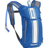 CamelBak Mini M.U.L.E. Kids' Hydration Backpack - 50 oz Lapis Blue/White Stripe
