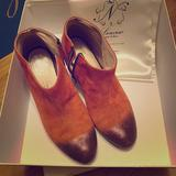 Anthropologie Shoes   Anthropologie Lenora Mia Rose Suede Boots Size 36   Color: Pink   Size: 6