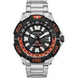 Promaster Gmt Diver Stainless Steel Bracelet Watch 44mm - Metallic - Citizen Watches