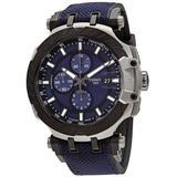 T-race Motogp Chronograph Automatic Blue Dial Watch T1154272704100 - Blue - Tissot Watches