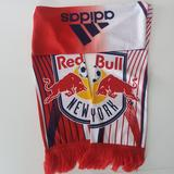 Adidas Accessories | Adidas Ny Redbull Scarf. Nwt | Color: Blue/Red | Size: Os
