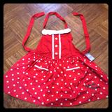 Disney Accessories | Minnie Mouse Apron | Color: Red | Size: Os
