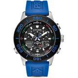 Promaster Sailhawk Analog-digital Blue Polyurethane Strap Watch 44mm - Blue - Citizen Watches