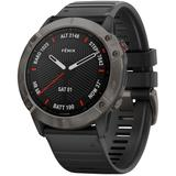 Fenix 6x Sapphire Watch - Black - Garmin Watches