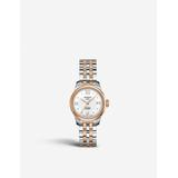 T0064072203300 Men's Le Locle Automatic Two Tone Date Bracelet Strap Watch - Metallic - Tissot Watches