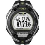 Watch Ironman Classic 30 Oversized Resin Strap Silver-tone/black/digital - Black - Timex Watches