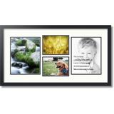 ArtToFrames Collage Picture Frame in White, Size 31.0 H x 17.0 W x 0.75 D in   Wayfair C3926EL2073