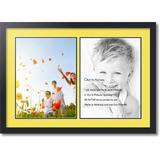 ArtToFrames Collage Picture Frame in Yellow, Size 31.0 H x 22.0 W x 0.75 D in   Wayfair C3926GF1418