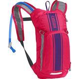 CamelBak Mini M.U.L.E. Kids' Hydration Backpack - 50 oz Hot Pink/Purple Stripe